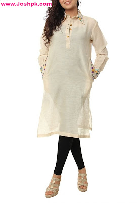 Latest Long Kurta Designs For Girls 2013