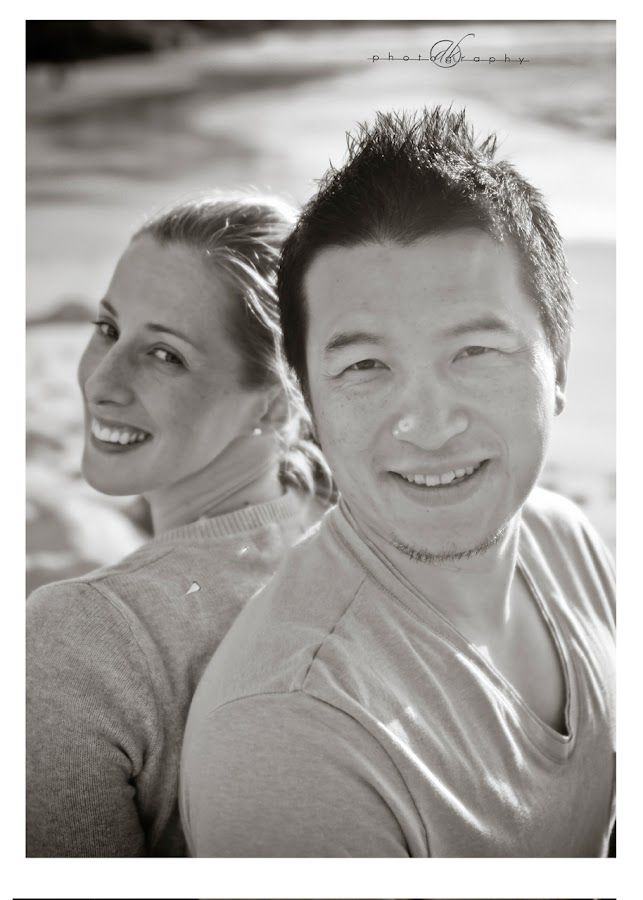 DK Photography 36 Kate & Cong's Engagement Shoot on Llandudno Beach  Cape Town Wedding photographer