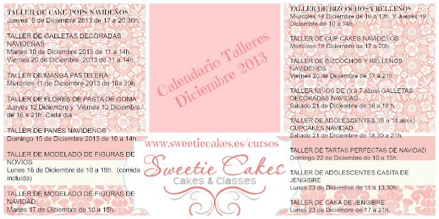 Calendario de Talleres Navideños Diciembre 2013