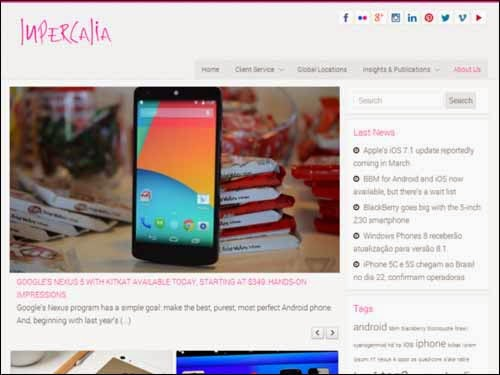 Lupercalia Free WordPress Theme