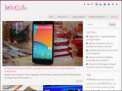 Lupercalia Free WordPress Theme