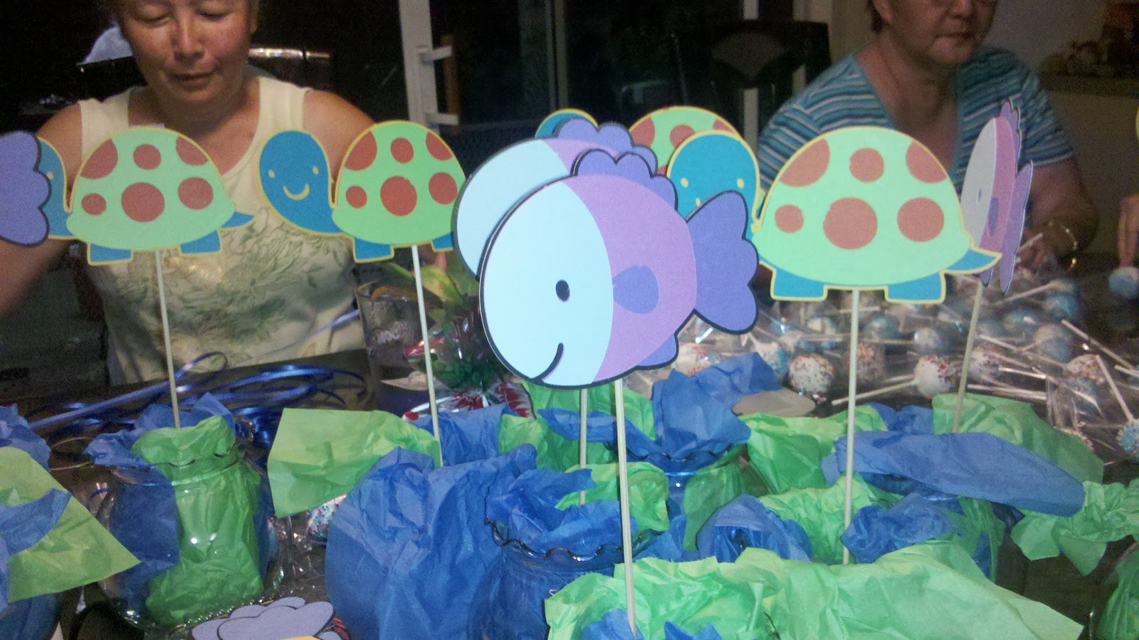 my kaotic life ocean themed baby shower