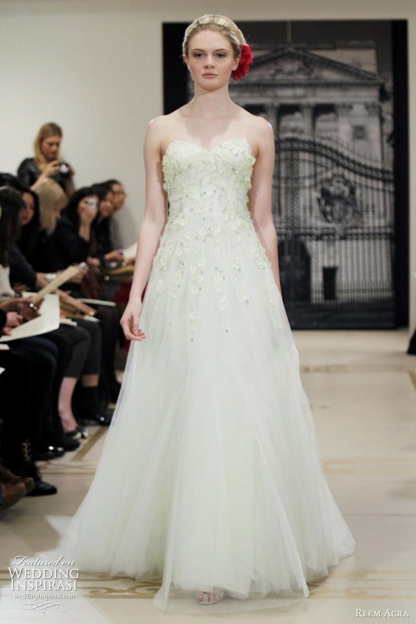 Ask cynthia wedding dress love reem acra for Light green wedding dress