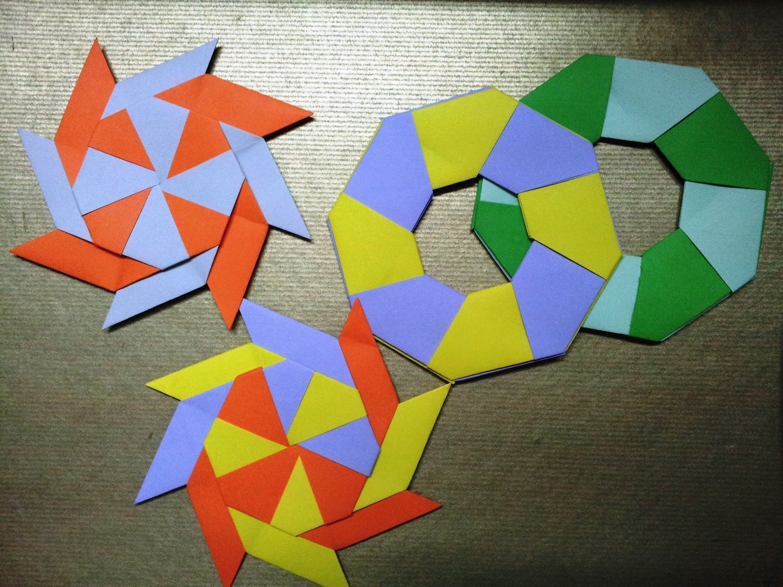 Paper moon easy origami for the easily bored ninja star an error occurred jeuxipadfo Gallery