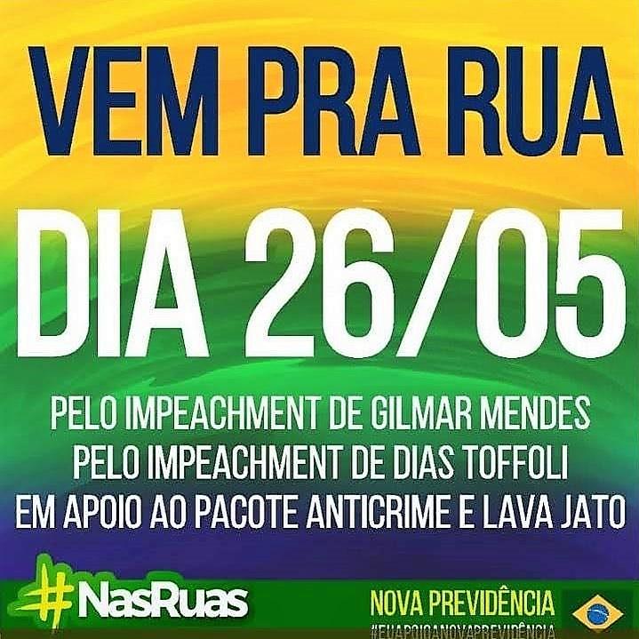 26 de maio: Brasil