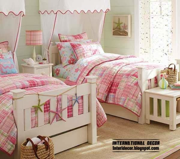 Teenage room ideas and decor top tips for boys and girls for Twin girls bedroom ideas
