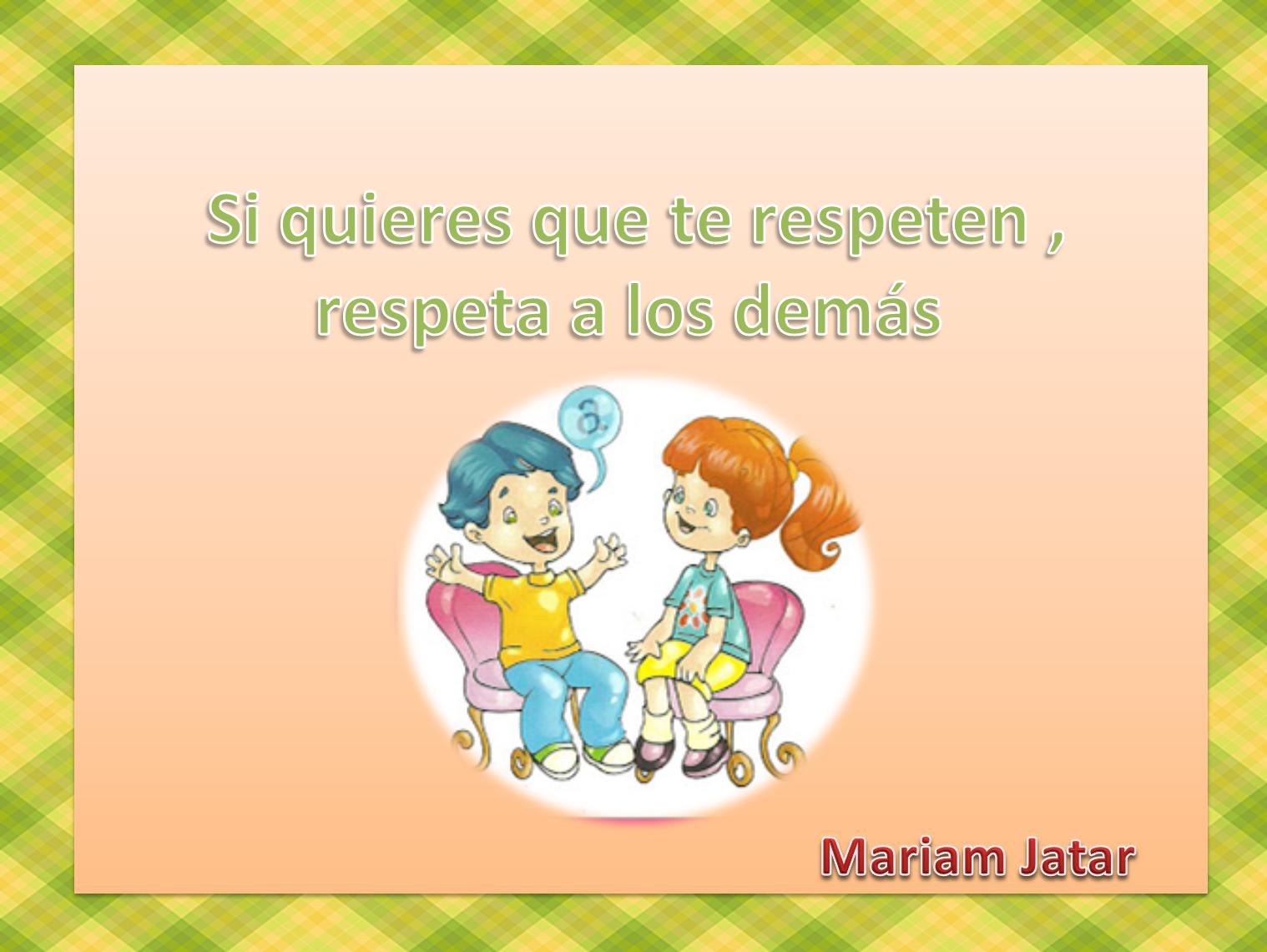 Para convivir mejor, fortalecemos el respeto entre tú y yo: Carteles