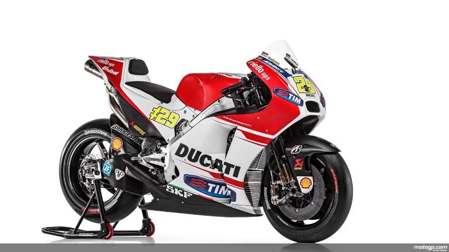 MotoGP : Gebrakan Desmosedici GP15 . . Ducati merajai test 1 Qatar !