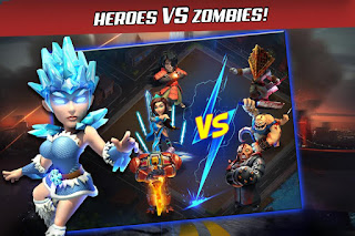 X-War: Clash of Zombies v1.1 Apk Full Android