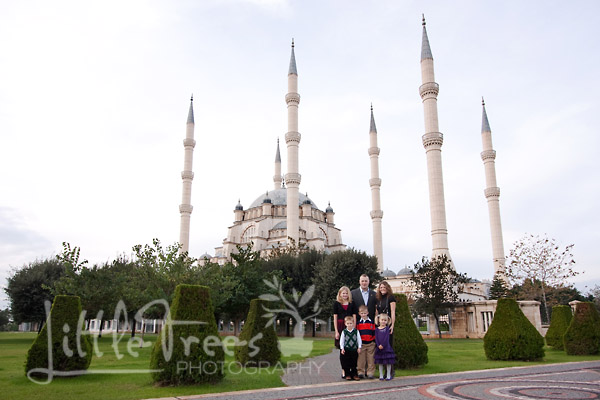 Turkey, Family, Adana Mosque