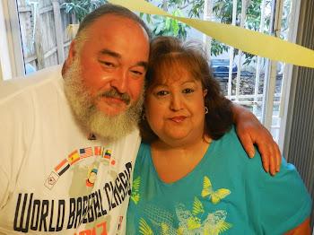 Aramis Gonzalez Gonzalez Y Mi Esposa Lory Geada Gonzalez, Julio 1, 2013, En Tampa, Florida, EEUU