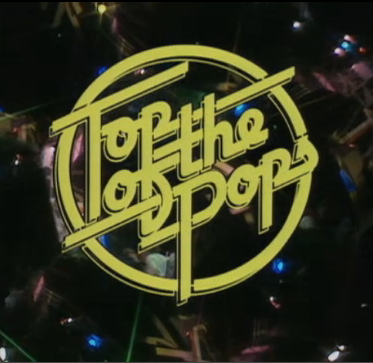 Top of the Pops logo from the 1970s.