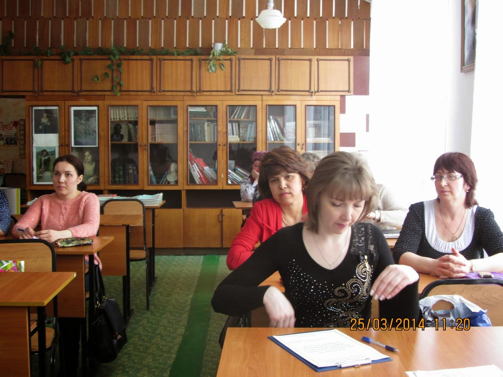 Заседание районных творческих лабораторий