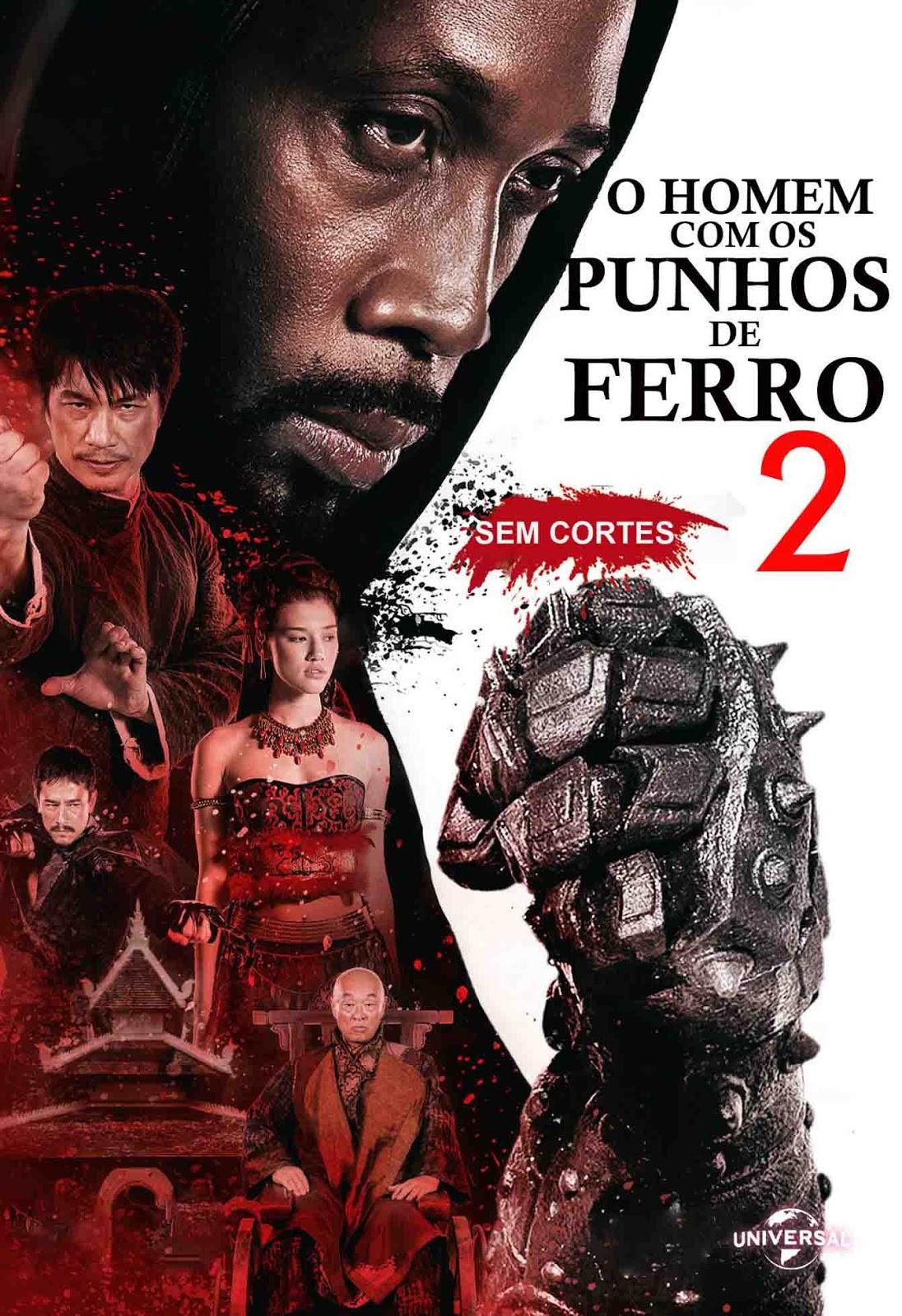 O Homem com Punhos de Ferro 2 Torrent - Blu-ray Rip 1080p Dual Áudio (2015)