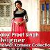 Rakul Preet Singh Designer Shalwar Kameez Collection 2014 | Bollywood Inspired Indian Suits
