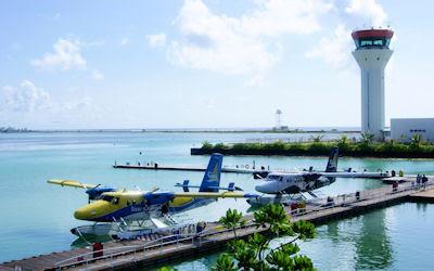 Aeropuerto en las Islas Maldivas - Lugares increíbles para visitar en vacaciones
