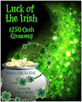 Luck of the Irish $250 CASH #Giveaway! To 3-31 Click on photo to enter!