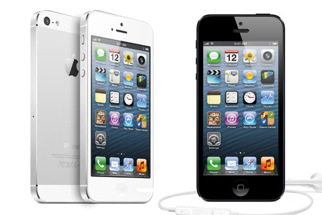 iPhone 5 dan 5 Rival Berat Smartphone Apple