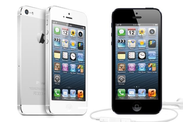 iPhone 5 dan 5 Rival Berat Smartphone Apple