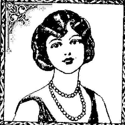 FREE Vintage Digi Stamps: More Vintage Ladies.