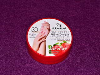 Golden Rose Nail Remover Pads
