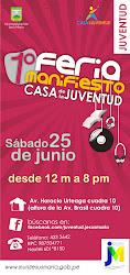 1° Feria Manifiesto Casa de la Juventud