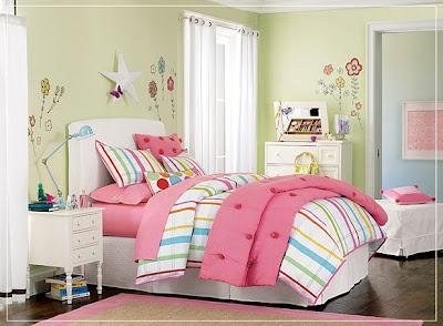 Dormitorios con muebles blancos para ni as dormitorios for Dormitorios para ninas adolescentes