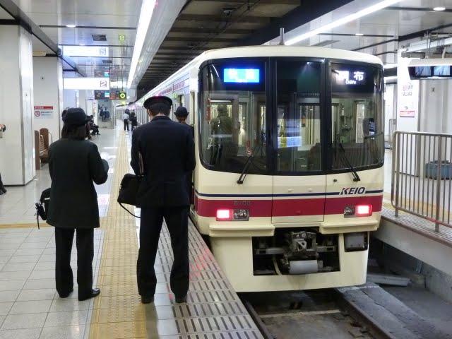 京王電鉄 快速 調布行き1 8000系(東京電力計画停電に伴う運行)3月14日