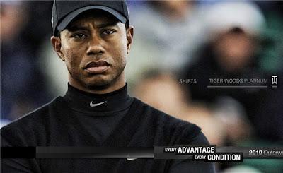 Tiger Woods, Nike advertisement
