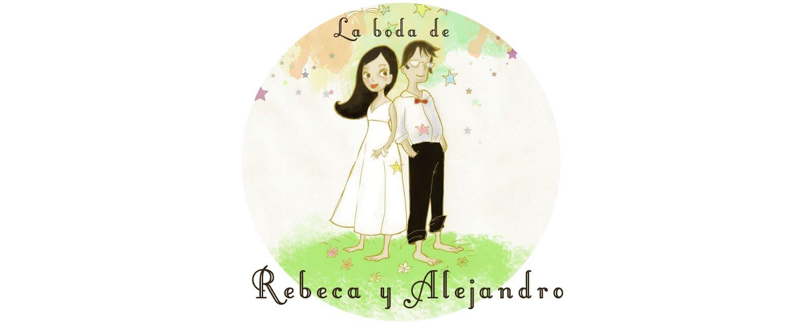 La boda de Rebeca y Alejandro