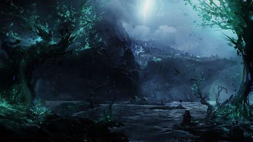 Quần đảo bóng đêm Shadow Isles lmht