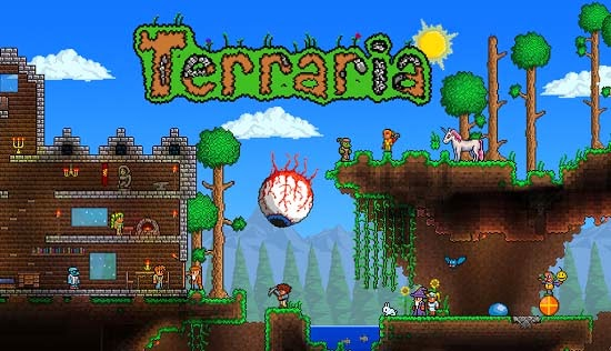 Terraria 1.1.9 Full Apk Direct Link by 505 Games