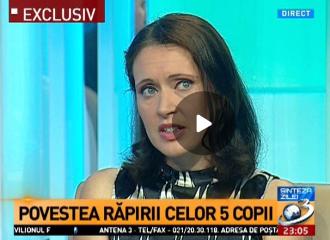 VIDEO: Familia Bodnariu la Sinteza Zilei - Antena 3