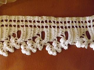 Puntilla de crochet