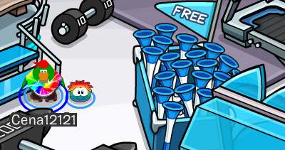 Penguin Cup 2014 party cheats