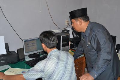 Kakankemenag Kota Tanjungbalai Tinjau Launching SIMKAH