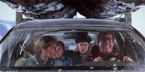 Driving Christmas Vacation 1989 movieloversreviews.blogspot.com