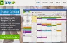 Teamup Calendar: permite crear y compartir calendarios para grupos de trabajo y proyectos