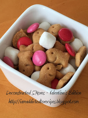 Deconstructed S'Mores - Valentine's Edition | Addicted to Recipes