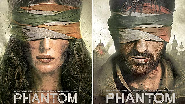 First Look of Phantom Saif Ali Khan, Katrina Kaif