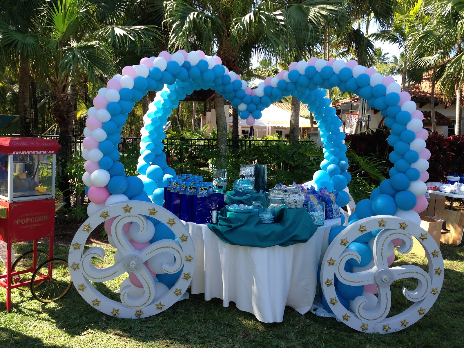 Dreamark events blog princess theme 5th birthday party for 5th birthday decoration ideas