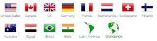 obtenir une adresse IP étrangère