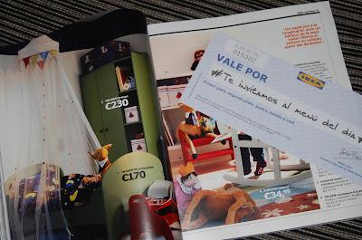 Obsequios presentación catálogo Ikea 2014