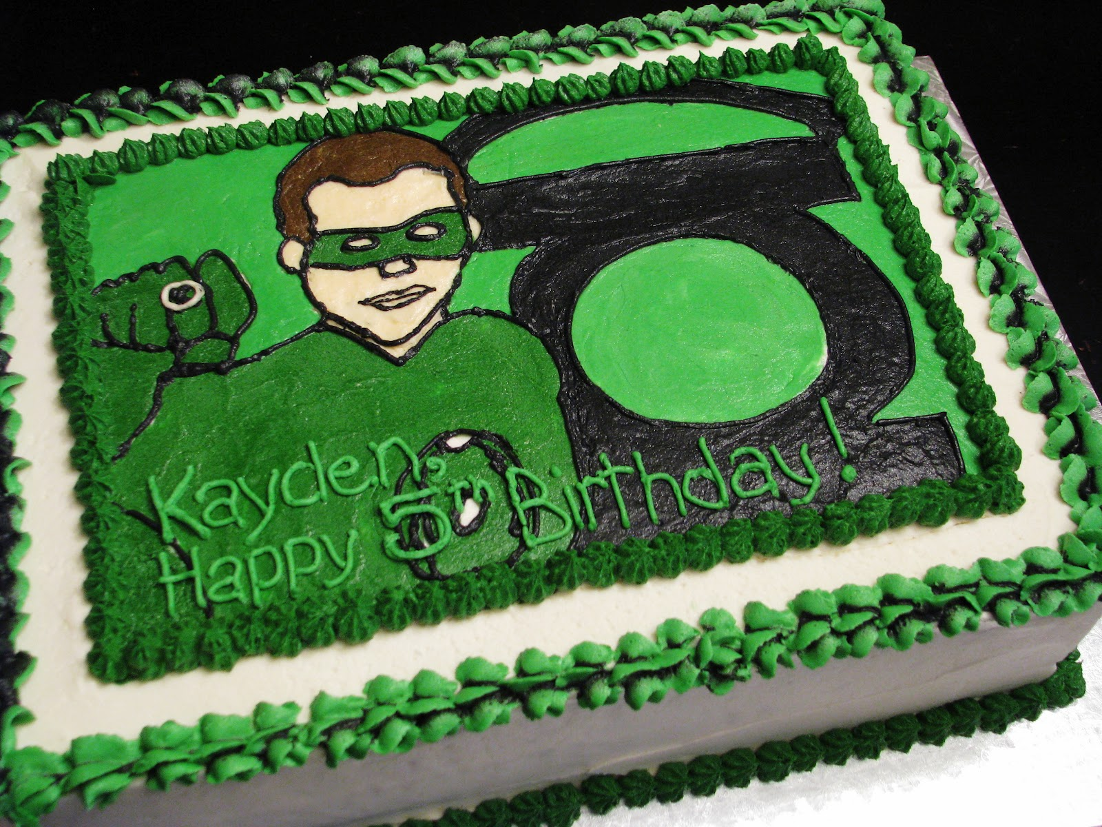 Bliss Cakes Of London Green Lantern