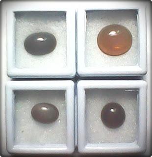 Tea Honey Opal and Amethyst Opal (Kalimaya Madu Teh dan Kalimaya