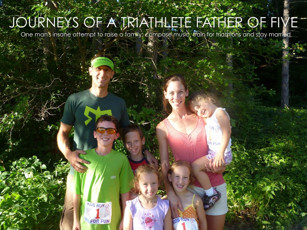 JOURNEYS OF A TRIATHLETE FATHER OF FIVE