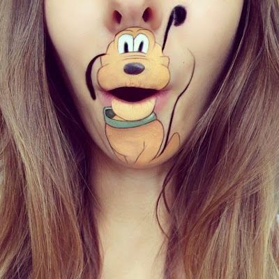 creative mouth painting