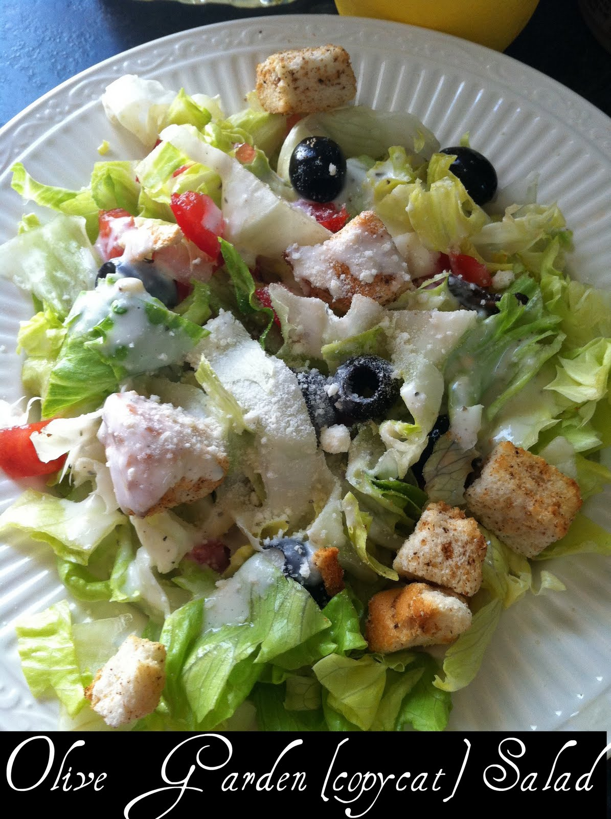 Something Beautiful What I 39 M Cooking Wednesday Olive Garden Salad