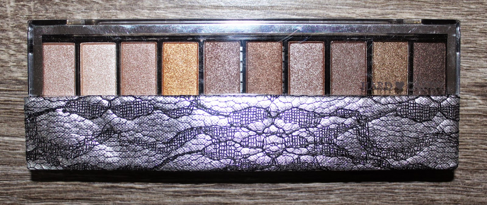Hard Candy Top Ten Eyeshadow Palette - Naturally Gorgeous