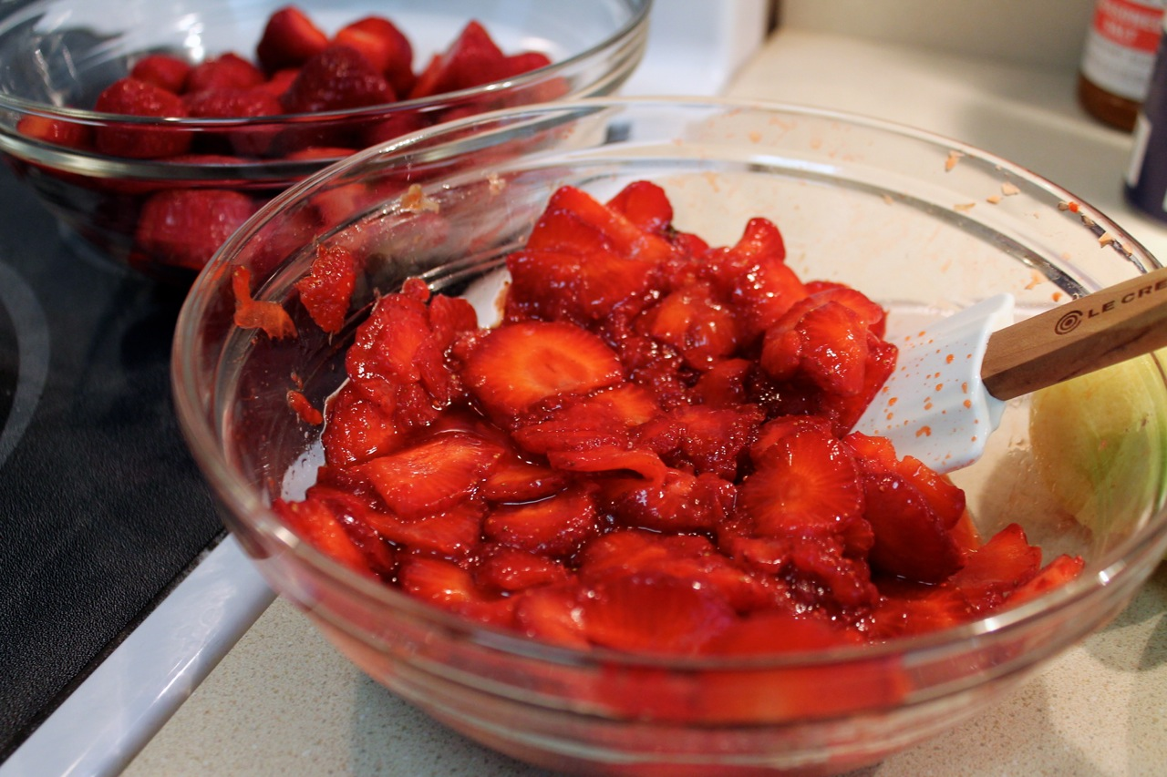 simple syrup by strawberries in spiced syrup spiced strawberry syrup ...